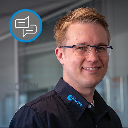 Daniel Hähnel, Cyclotron Consultant