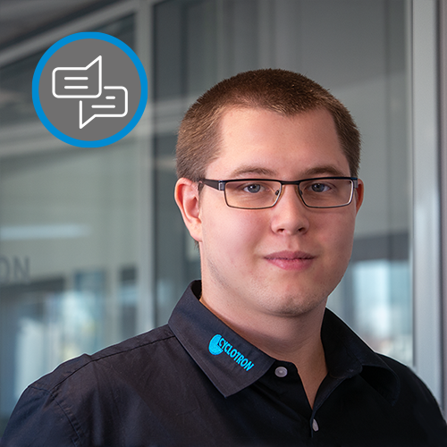 Tobias Haupt, Cyclotron Techniker